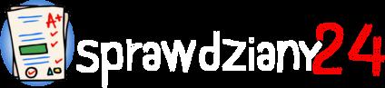 Sprawdziany24 - Logo - Strona Główna